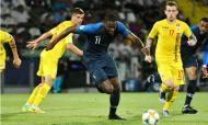 Euro sub-21: França-Roménia (EPA/ALESSIO TARPINI)