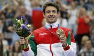 Diogo Ganchinho bonze em Minsk (foto Comité Olímpico de Portugal)