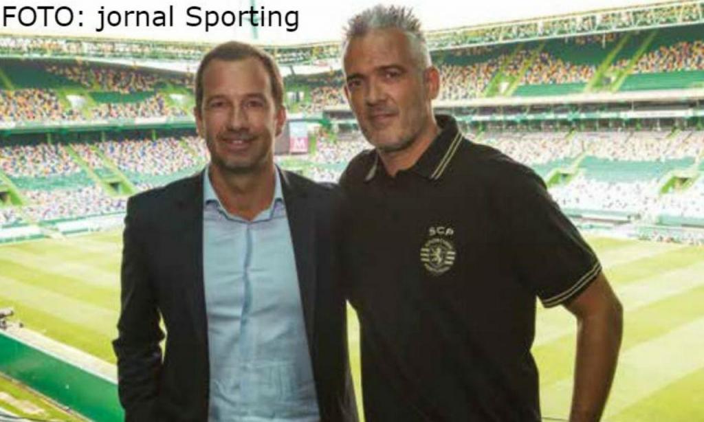 Tiago Ferreira está de volta ao Sporting