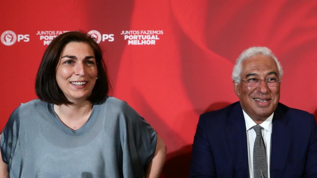 Ana Catarina Mendes e António Costa