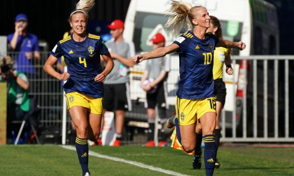 Suécia venceu Alemanha e está nas meias-finais