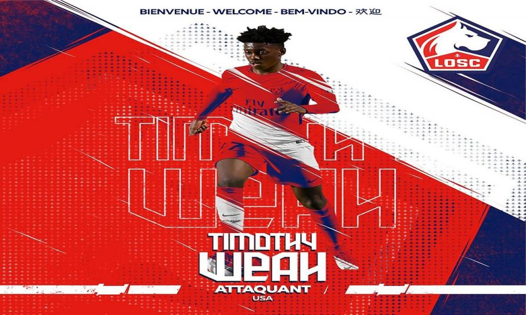 Timothy Weah (Lille)