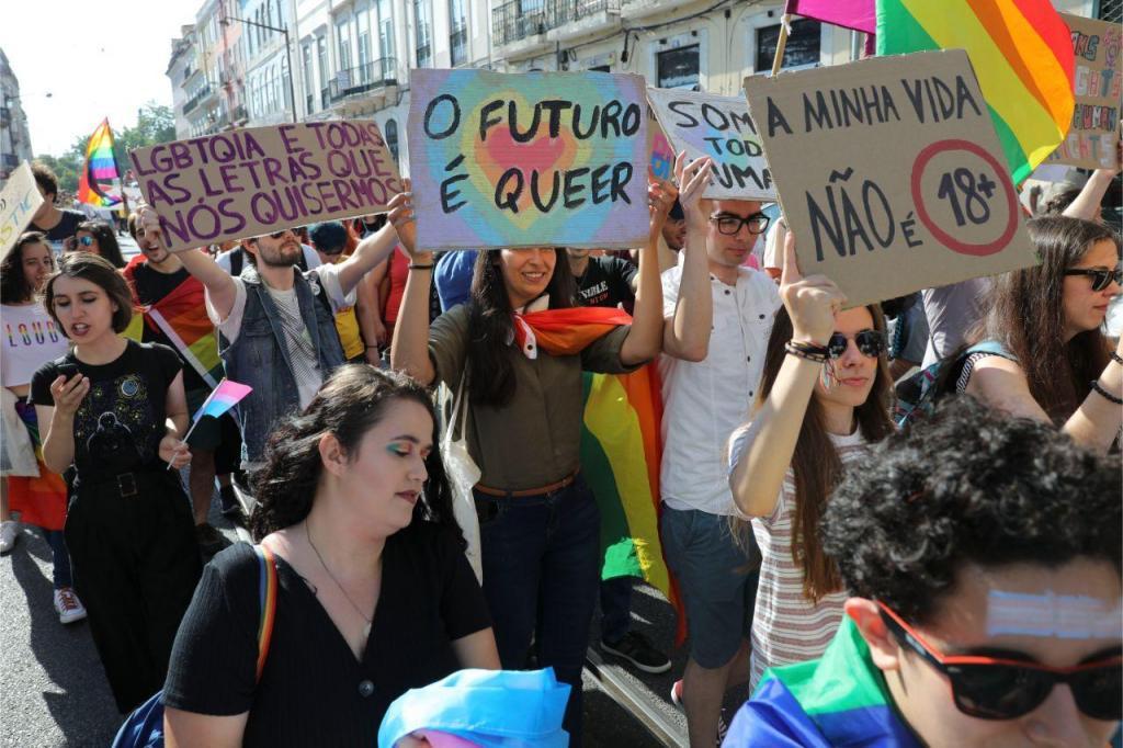 Marcha LGBTI+ em Lisboa