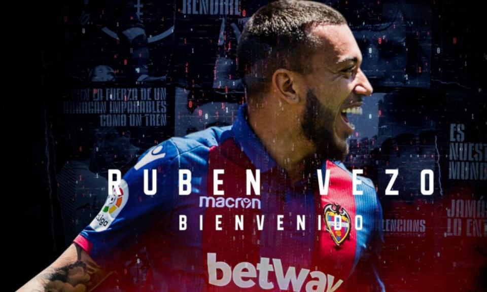 OFICIAL: Rúben Vezo no Levante (desta vez em definitivo)