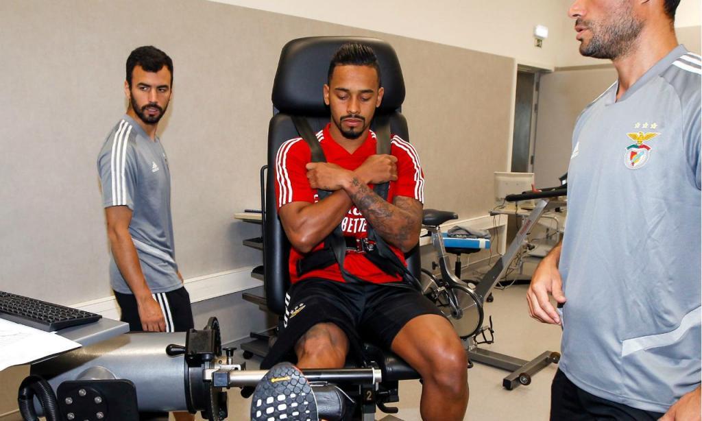 Regresso do Benfica ao trabalho (foto Benfica)