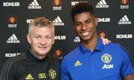 Rashford renovou com o Manchester United