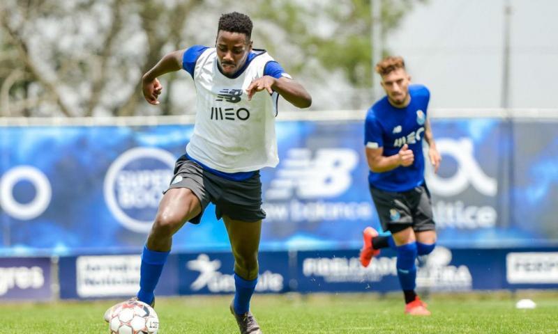 Aí está o primeiro treino da temporada do FC Porto