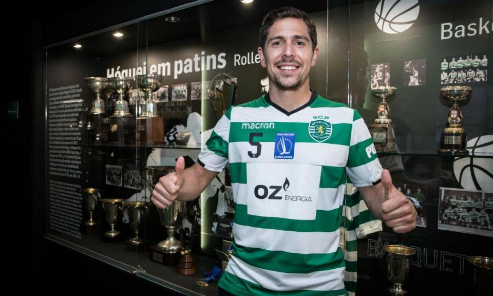 Hóquei: Telmo Pinto muda-se do FC Porto para o Sporting