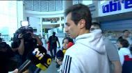De regresso a Lisboa, Jonas admite final de carreira