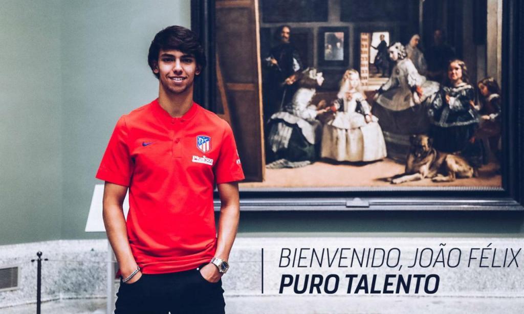 João Félix (twitter Atlético Madrid)