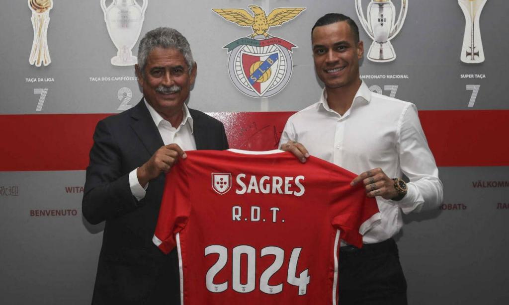Raul de Tomás (site Benfica)