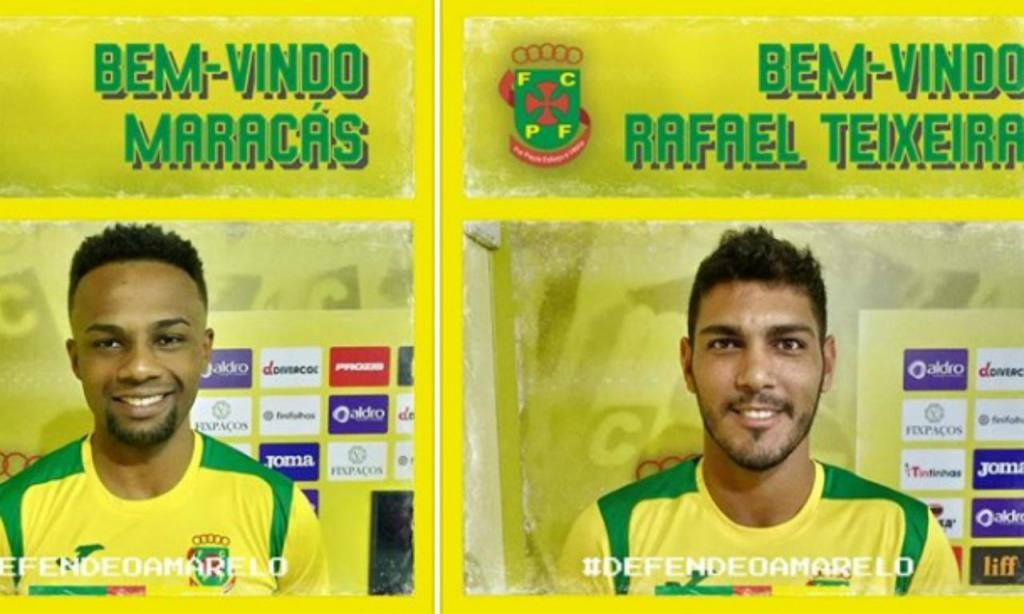 Maracás e Rafael Teixeira (foto Paços de Ferreira)