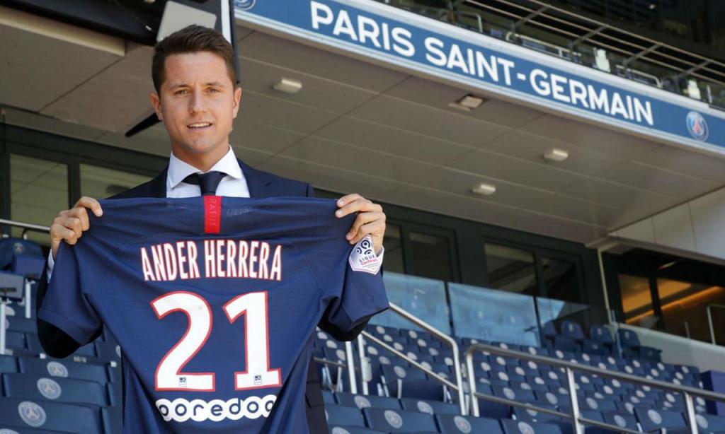 Ander Herrera (site PSG)
