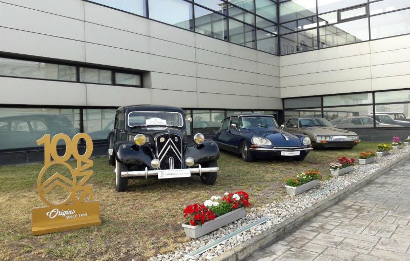 Citroën faz 100 em 2019