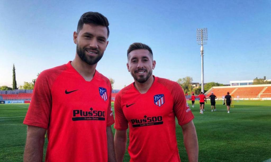 Felipe e Herrera (foto Atlético Madrid)