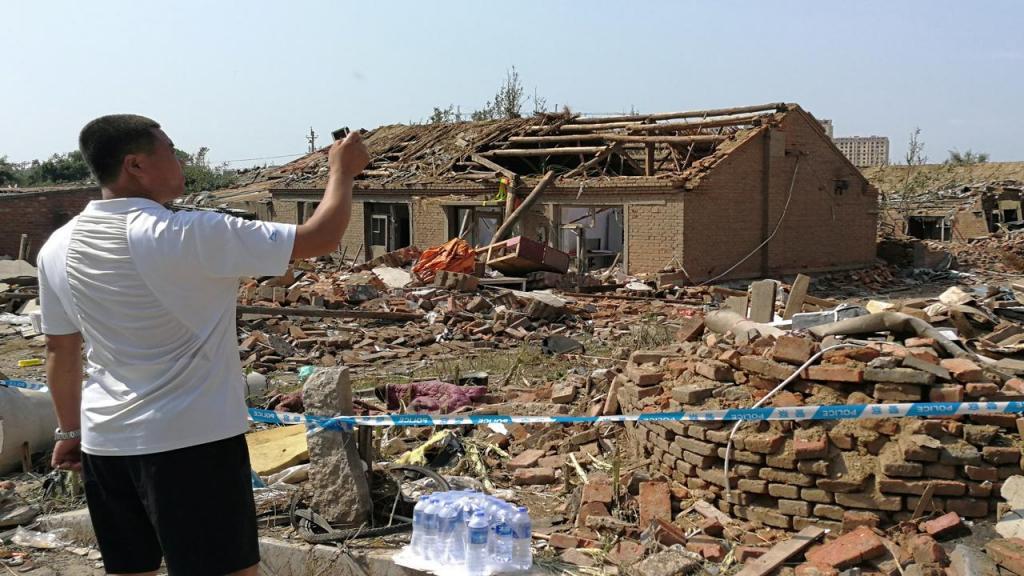 Tornado em Kaiyuan