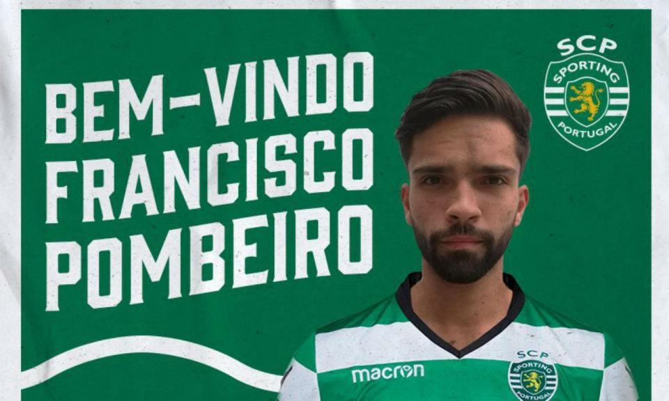 Voleibol: Francisco Pombeiro é reforço do Sporting
