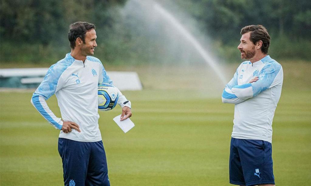André Villas-Boas e Ricardo Carvalho (twitter Marselha)