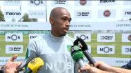 «Quero ser um ídolo dos adeptos do Sporting e do clube»