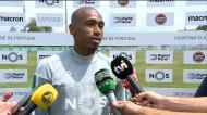 Eduardo deixa mensagem aos adeptos do Sporting