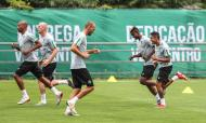 Sporting treina na Suíça