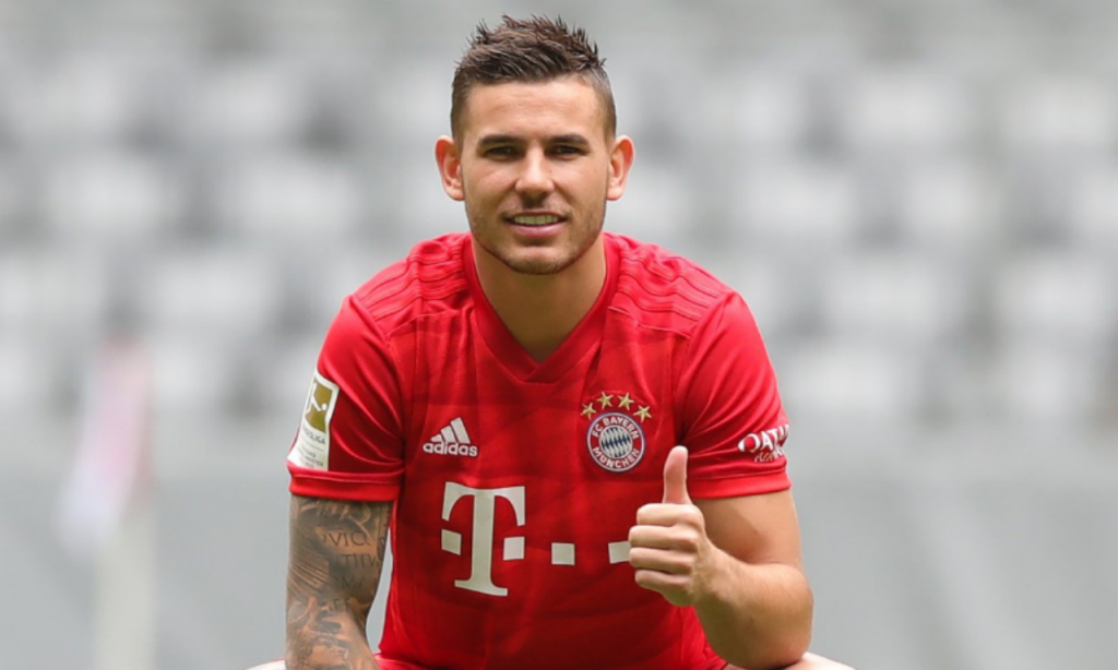 Luaz Hernández (Fonte: Bayern Munique Twitter)
