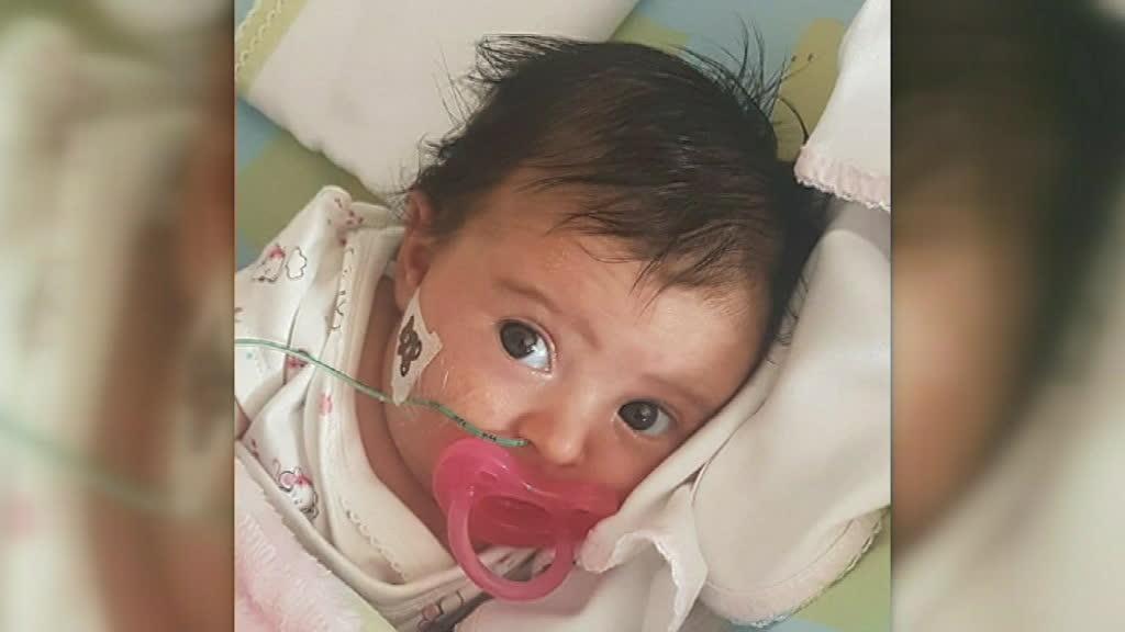 Bebé Matilde começa o primeiro tratamento