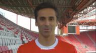 Jonas homenageado antes do Benfica-Anderlecht