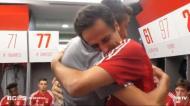 Os últimos momentos de Jonas no Benfica