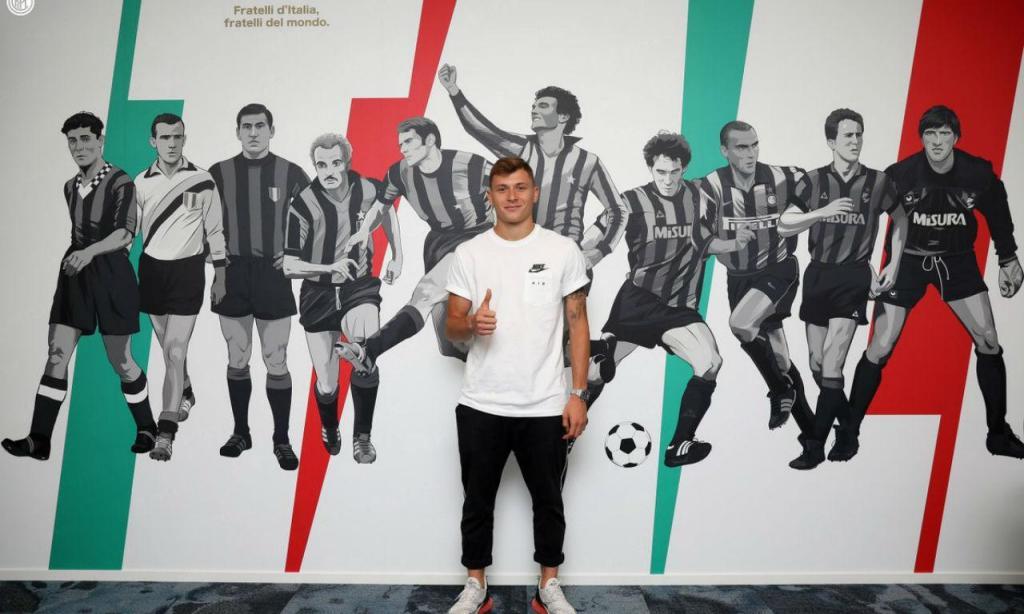 Nicolò Barella (twitter Inter)