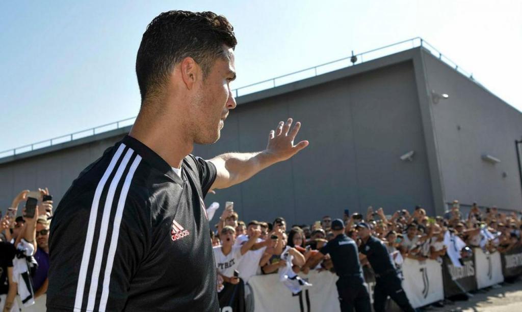 Cristiano Ronaldo arranca pré-época (foto: Juventus)