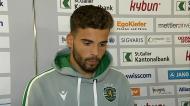 Luís Maximiano faz o balanço do estágio do Sporting na Suíça