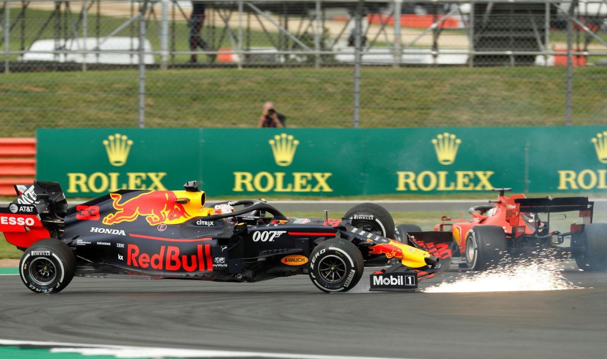 Max Verstappen e Sebastian Vettel (Reuters)