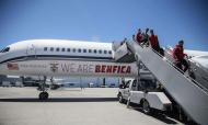 Benfica já está no EUA (facebook Benfica)