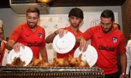 Félix, Herrera e Koke (At. Madrid)