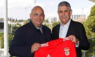 Makis Belevonis e Luís Filipe Vieira (foto: SL Benfica)