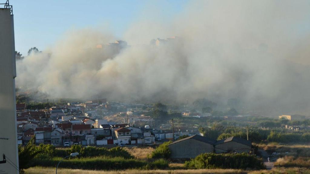 Incêndio na Amadora