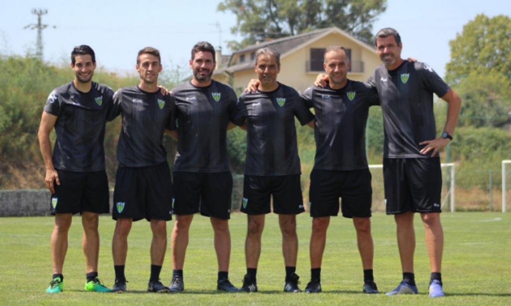 Equipa técnica do Tondela para 2019/2020 (CD Tondela)