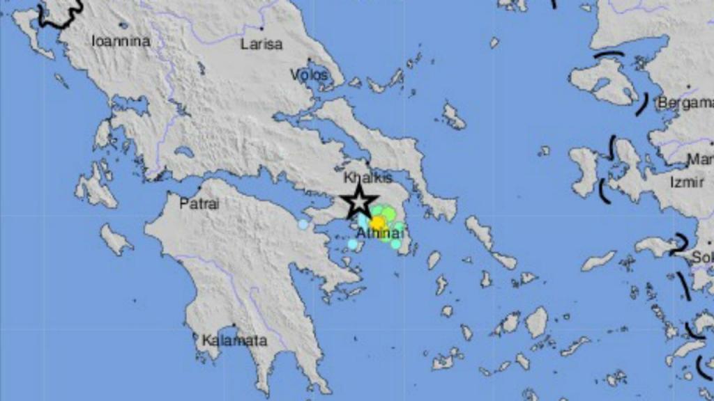 Sismo em Atenas