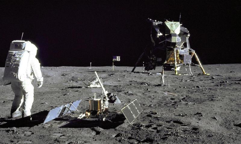 A chegada do homem à Lua