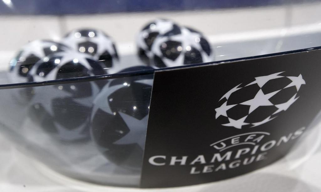 Sorteio da Liga dos Campeões