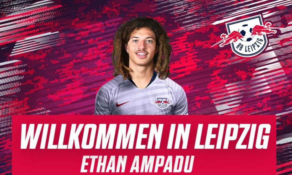 Ethan Ampadu (twitter Leipzig)