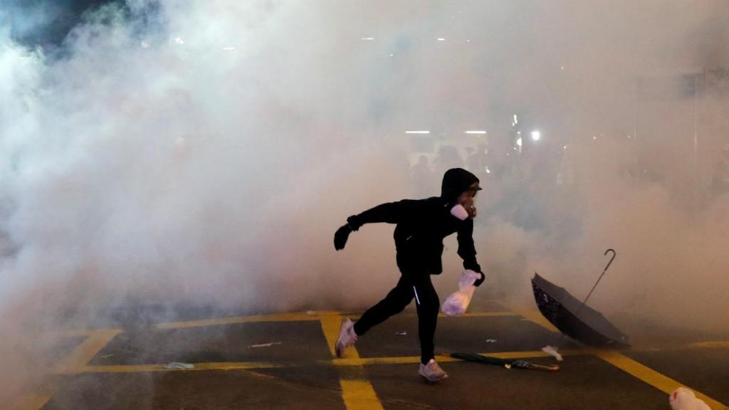 Os protestos em Hong Kong duram há mais de um mês
