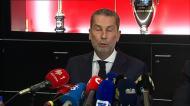 Benfica contesta nova lei da segurança