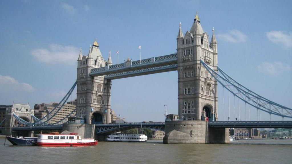 Rio Tamisa, em Londres