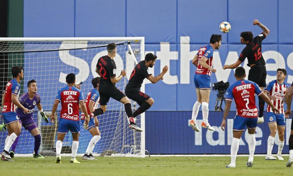 Atlético Madrid-Chivas (EPA/LARRY W. SMITH)