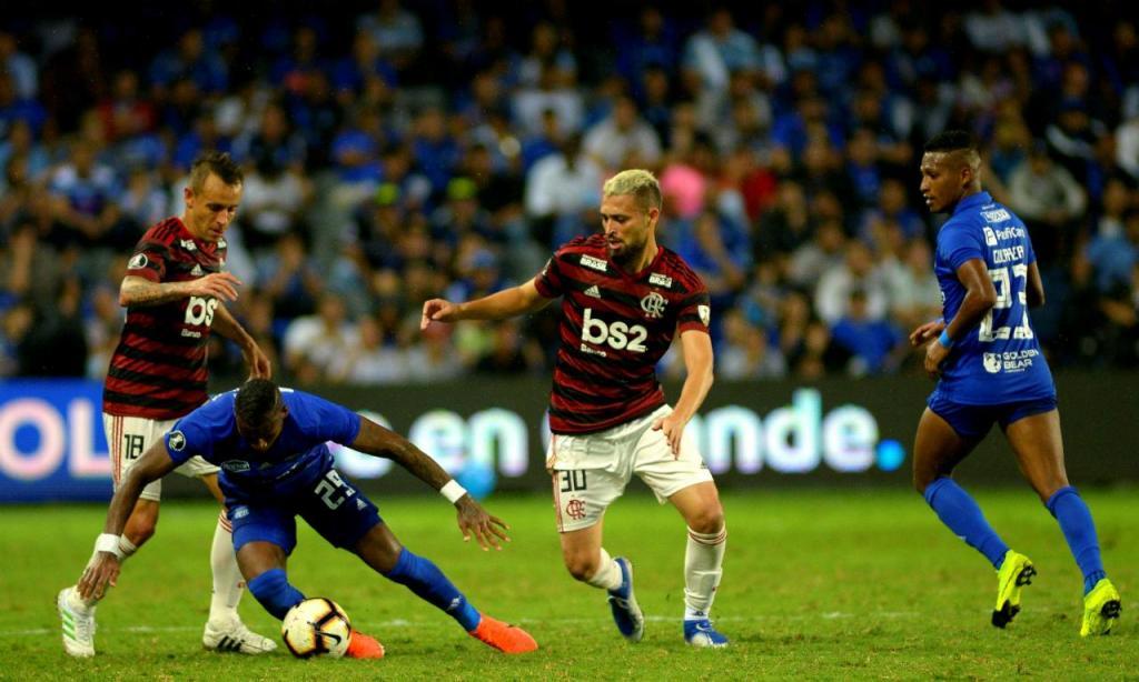 Emelec-Flamengo (EPA/MARCOS PIN)
