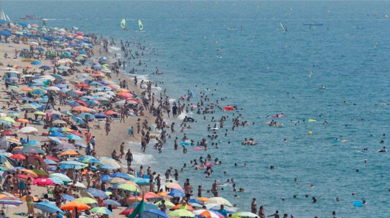 Calor em Espanha