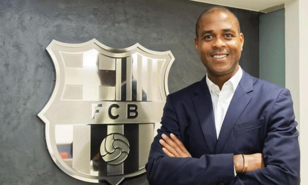 Kluivert é o novo responsável pela formação do Barça