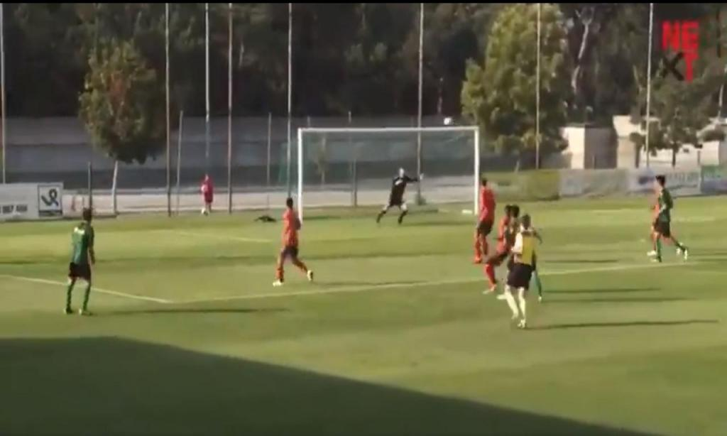 Xavier marca golaço frente ao Sp. Braga (twitter)